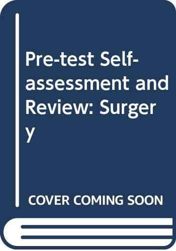 9780071134286: Pre-test Self-assessment and Review: Surgery (PreTest Clinical Science)