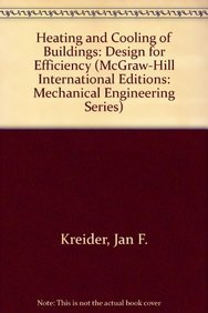9780071134385: Heating and Cooling of Buildings: Design for Efficiency