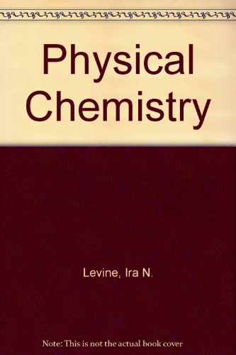 9780071134729: Physical Chemistry