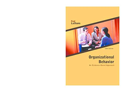 9780071134736: Organizational Behaviour