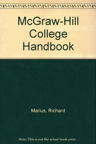 9780071134828: McGraw-Hill College Handbook