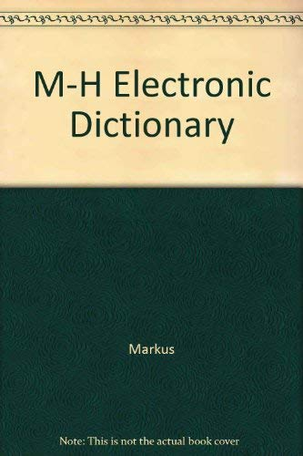 9780071134866: M-H Electronic Dictionary