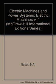 9780071135269: Electric Machines and Power Systems: Electric Machines v. 1 (McGraw-Hill International Editions Series)