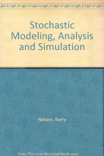 9780071135382: Stochastic Modeling, Analysis and Simulation