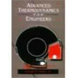 9780071135504: Advanced Thermodynamics for Engineers
