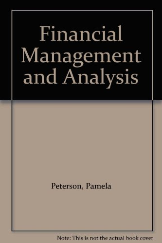 9780071135832: Financial Management and Analysis
