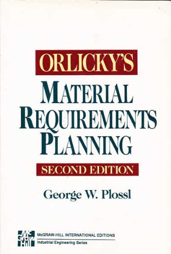 9780071135962: Orlicky's Material