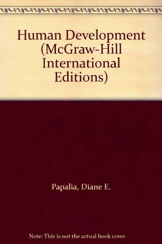9780071135986: Human Development (McGraw-Hill International Editions Series)