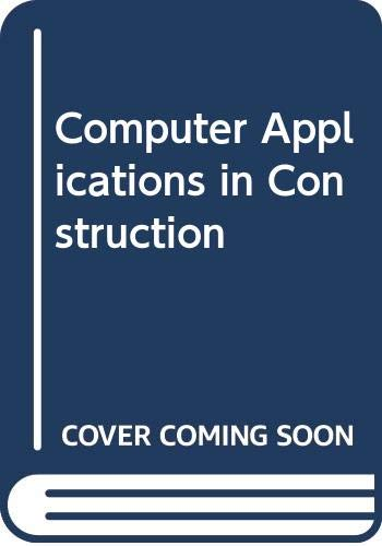 9780071136082: Computer Applications in Construction (McGraw-Hill International Editions)