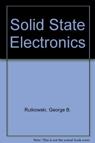 9780071136211: Solid State Electronics