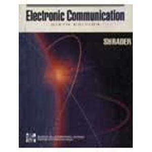 9780071136655: Electronic Communication