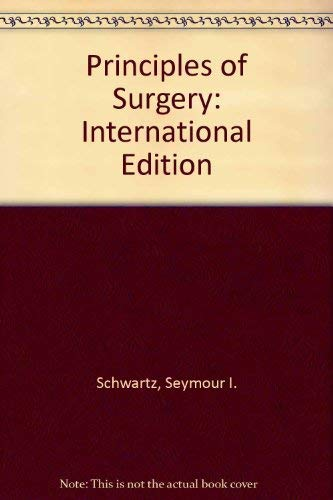 9780071136761: Principles of Surgery: International Edition