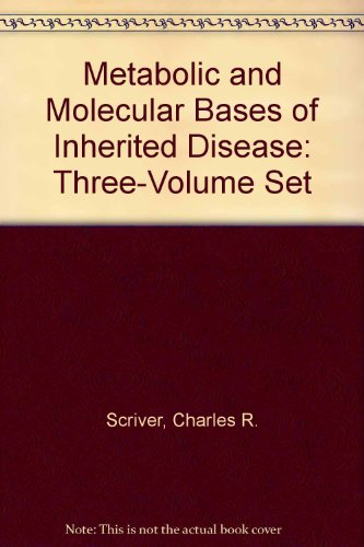 9780071136891: Metabolic and Molecular Bases of Inherited Disease: Three-Volume Set