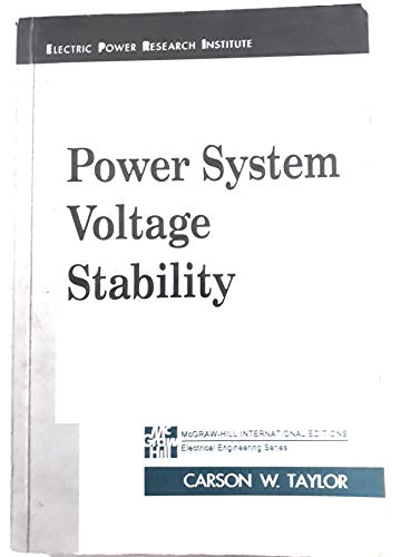 9780071137089: Power System Voltage Stability