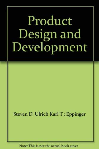 9780071137423: Product Design and Development