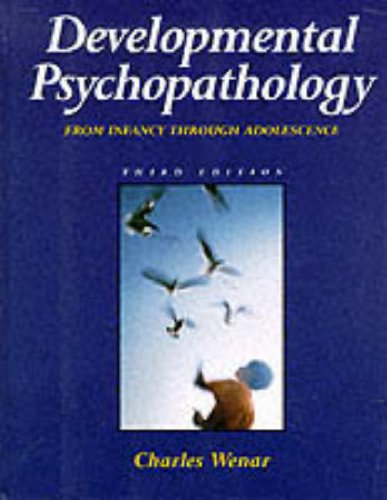 9780071137621: Developmental Psychopathology