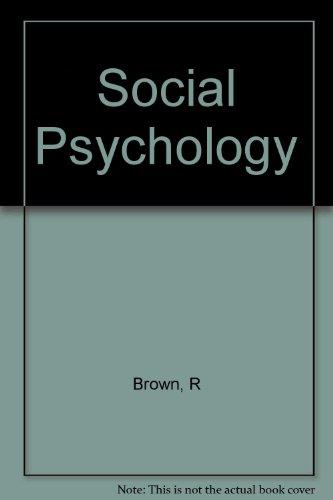 9780071137638: Social Psychology