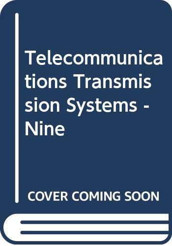 9780071137683: Telecommunications Transmission Systems -Nine