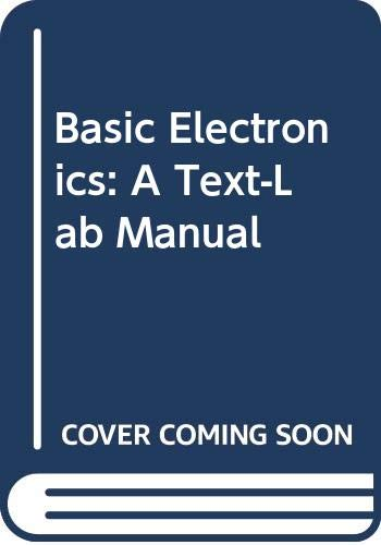 9780071137829: Basic Electronics: A Text-Lab Manual (McGraw-Hill international editions. Electrical engineering series)
