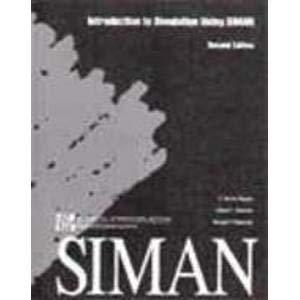 Introduction to Simulation Using Siman: Claude Dennis Pegden,