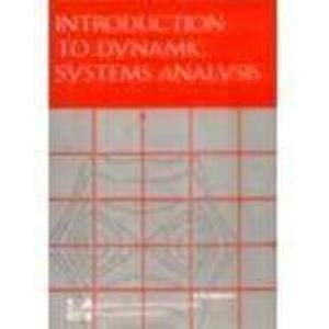 9780071138444: Introduction to Dynamic Systems Analysis