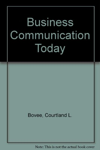 9780071138512: Business Communication Today