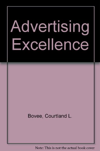 9780071138529: Advertising Excellence