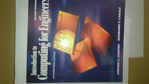 9780071138833: Introduction to Computing for Engineers