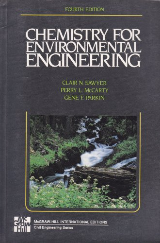 9780071139083: Chemistry for Environmental Engineering