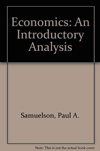 9780071139144: Economics: An Introductory Analysis