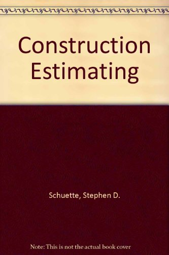 9780071139182: Construction Estimating