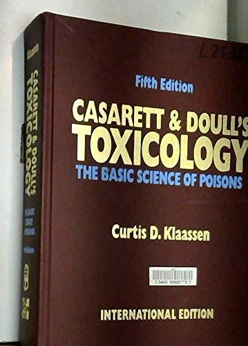9780071139274: Casarett and Doull's Toxicology: The Basic Science of Poisons