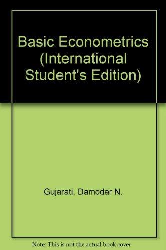 9780071139632: Basic Econometrics