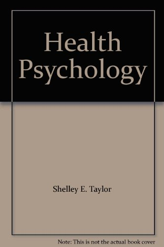 9780071139717: Health Psychology THIRD EDITION