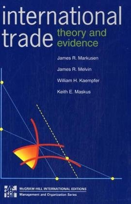 9780071139724: International Trade: Theory and Evidence