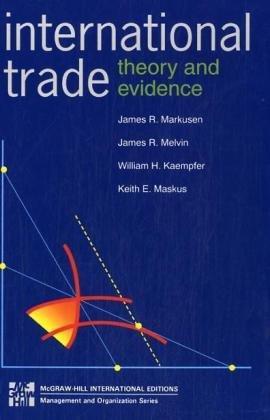 9780071139724: International Trade: Theory and Evidence