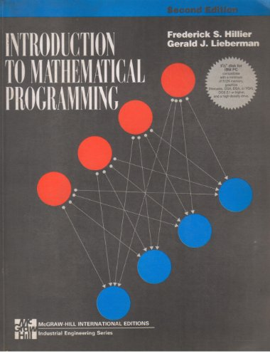 9780071139908: Introduction to Mathematical Programming (McGraw-Hill Series in Industrial Engineering & Management Science)