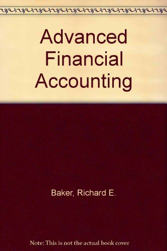 9780071140478: Advanced Financial Accounting