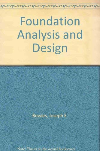 9780071140522: Foundation Analysis and Design