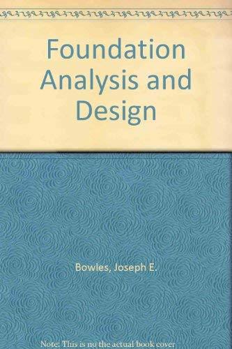 9780071140522: Foundation Analysis and Design