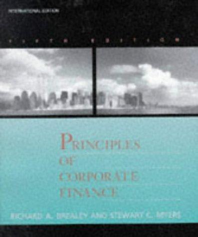 9780071140539: Principles Of Corporate Finance