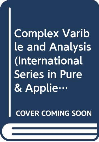 9780071140546: Complex Variables and Applications (International Series in Pure & Applied Mathematics)