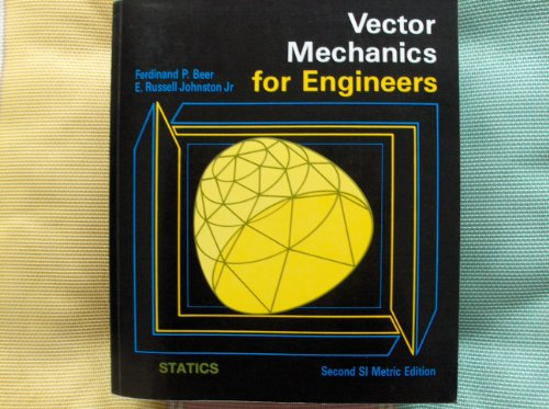 9780071140577: Vector Mechanics For Engineers, Statics, 2nd SI Metric Edition