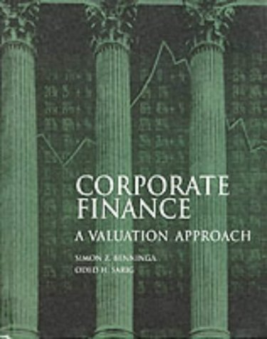 9780071140720: Corporate Finance: A Valuation Approach (McGraw-Hill Series in Finance)