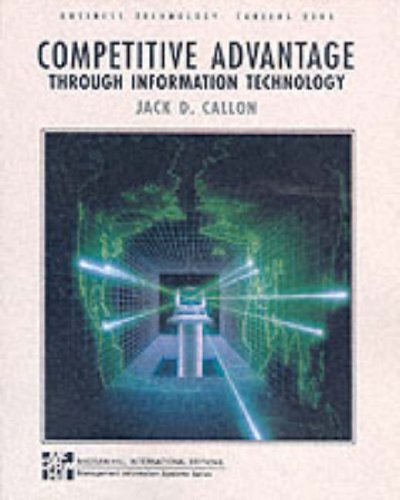 9780071141062: Competitive Advantage Through Information Technology (Business technology : careers 2000)
