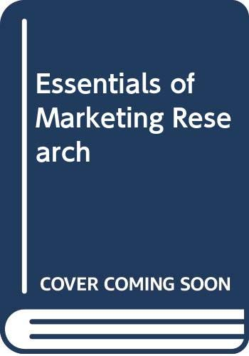 9780071141543: Essentials of Marketing Research