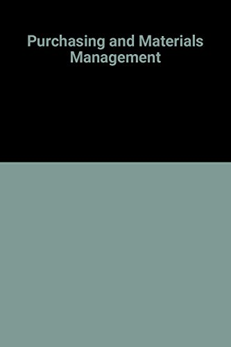 9780071141888: Purchasing and Materials Management