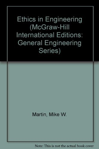 9780071141956: Ethics in Engineering (McGraw-Hill International Editions: General Engineering Series)
