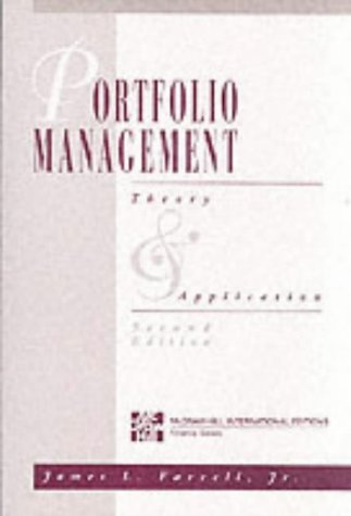 9780071142441: Portfolio Management: Theory and Application