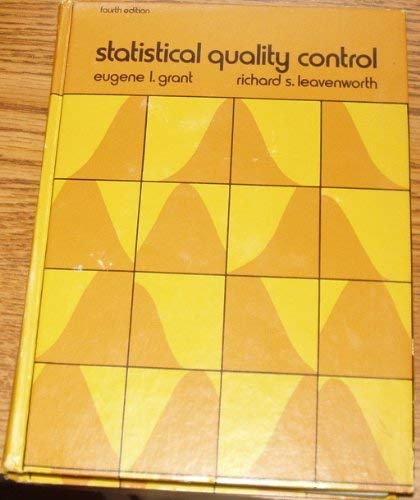 9780071142489: Statistical Quality Control (McGraw-Hill Series in Industrial Engineering and Management Science)
